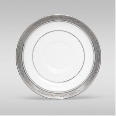 Noritake Crestwood Platinum After Dinner Saucer NTK6108