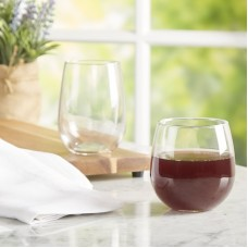 Wayfair Basics™ Wayfair Basics 12 Piece Assorted Stemless Wine Glass Set WFBS1626