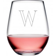 Susquehanna Glass Personalized Plastic 20 oz. Stemless Wine Glass ZSG4125