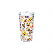Tervis Tumbler Emoji™ All Over Collage 16 oz. Plastic Every Day Glass TTT23160
