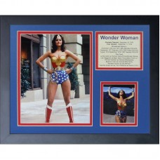 Legends Never Die Wonder Woman Framed Photographic Print FROW1914