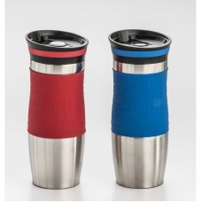 Cook Pro Double Walled Stainless Steel Coffee Tumbler with Silicone Grip KPO1231