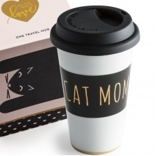 Rosanna All You Need Is Love Cat Mom Travel Mug RPO2230