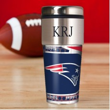 JDS Personalized Gifts Personalized Patriots Travel Mug JMSI2356