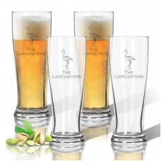 Carved Solutions Personalized Tritan 14 oz. Pilsner Glass WXH1547