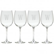 Carved Solutions Roberta Personalized White Wine Glass WXH1309