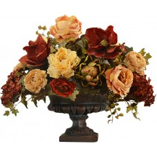 Floral Home Decor Mixed Centerpiece in Decorative Vase FLHD1142