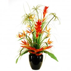 LCGFlorals Deluxe Tropical Arrangement in a Tapered Vase LCGF1042