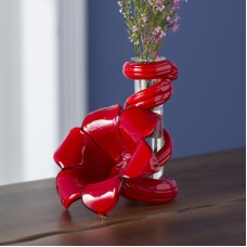 Beachcrest Home Cordero Glass Lily Bud Vase BCHH9256