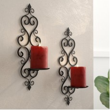 Lark Manor Iron Sconce LRKM2513