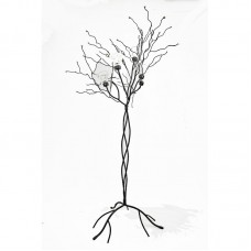 Orren Ellis Wire Tree Metal Candelabra ORNE5446