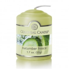Colonial Candle Cucumber Fresca Scent Votive CCAN1452