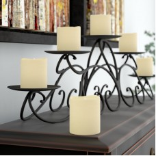 Three Posts Battery Operated Mini Pillar Candle TRPT4177
