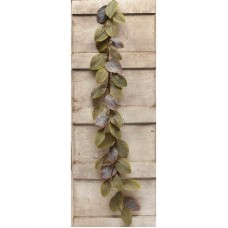 Gracie Oaks Artificial Fall Magnolia Leaf Garland MEVI2889