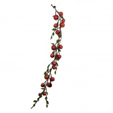 The Holiday Aisle Artificial Country Apples Garland THDA9286