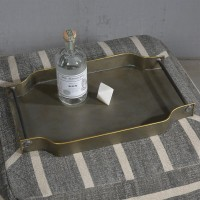17 Stories Sau Galvanized Serving Tray STSS7598