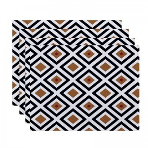 Breakwater Bay Frances Geometric Placemat BRWT7062