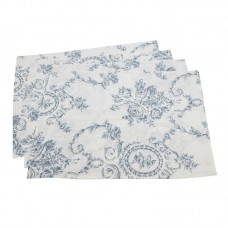 "Saro Floral and Toile 20"" Placemat THJL1115"