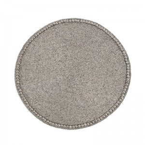 Saro Goa Glass Beaded Placemat SARO1498