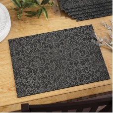 Three Posts Zimmermann Damask Vinyl Placemat TRPT3871