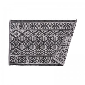Union Rustic Lavigne Black Placemat UNRS6472