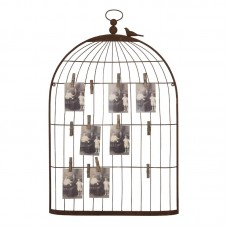 Laurel Foundry Modern Farmhouse Birdcage Photo and Place Card Holder LFMF3915