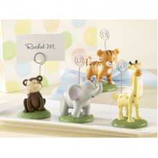 The Holiday Aisle Born to Be Wild Animal Place Card Holder Set THDA1762