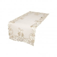 August Grove Tyris Embroidered Cutwork Table Runner AGTG1489