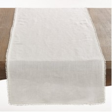 Beachcrest Home Maplecrest PomPom Table Runner BCHH1099