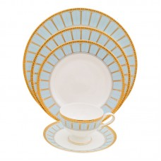 Shinepukur Ceramics USA, Inc. Discovery 5 Piece Bone China Place Setting, Service for 1 SHPK1144