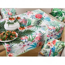 Bay Isle Home Stackhouse Floral Tropical Tablecloth THJL1163
