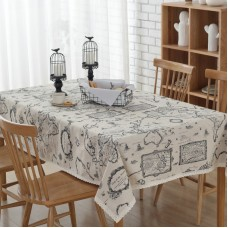 Breakwater Bay Erik Simple Map Tablecloth EOVS1010