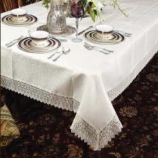 One Allium Way Alienor Rectangular Lace Tablecloth ONAW2011
