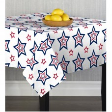 The Holiday Aisle Chriopher Funky Stars and Table Cloth EABR1531