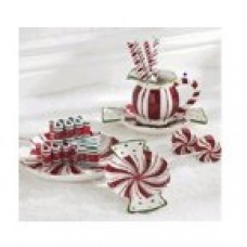 Wildon Home ® Peppermint Candy Dish CST50078