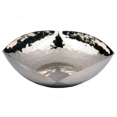 Darby Home Co Jonquil Hammered Salad Bowl DBHM4140