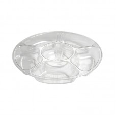 Fineline Settings, Inc Platter Pleasers 6 Divided Serving Dish FONE1148