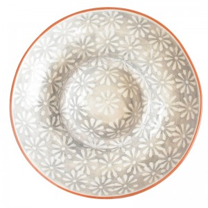 Mistana Jaya Hand-Painted Chip and Dip Platter MTNA4403
