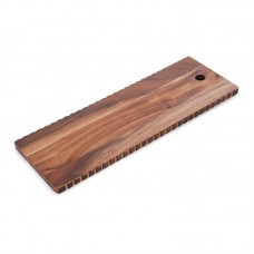 BarCraft Wave Edge Acacia Wood Cheese Board and Platter BCCB1024