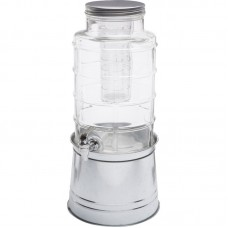 Circle Glass Big Window 2.4 Gal Beverage Dispenser CIGL1374