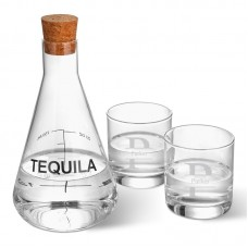 Latitude Run Weisser Personalized Tequila 3 Piece Beverage Serving Set LTTN5072