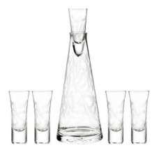 Qualia Glass Malibu 6 Piece Vodka Set QLGL1094