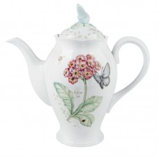 Lenox Butterfly Meadow Coffee Server with Lid LNX2371