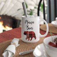 Loon Peak Anjou Mama Bear Coffee Mug LOPK5924
