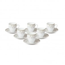 Lorren Home Trends Espresso Cup and Saucer Set LHT1678
