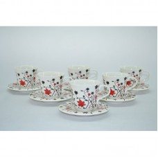 Three Star Cup and Saucer Set THSS1212
