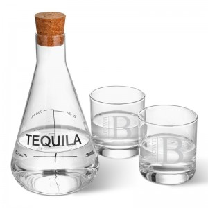 Latitude Run Weisser Personalized Tequila 3 Piece Beverage Serving Set LTTN5071