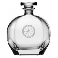 Longshore Tides Widmer Compass Rose NSEW 23.75 oz. Decanter LNTS4653