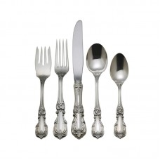 Reed Barton Burgundy 5 Piece Flatware Set RBA1101