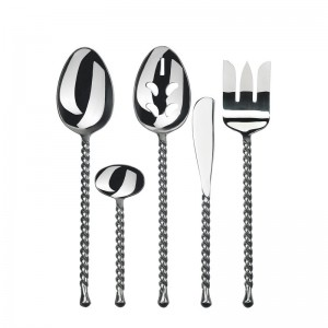 Gourmet Settings Handmade Tear 5 Piece Hostess Set GSS1017